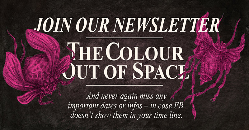 The Colour out of Space Newsletter